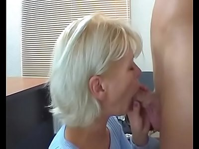 Blonde russian mature casting part 2 of 3