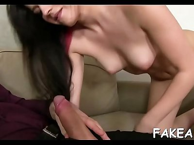 Superlatively good porn casting video
