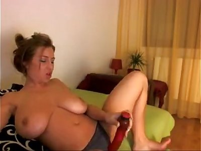 Girl showing her tits on webcam - more videos on GirlsCamsHD.com