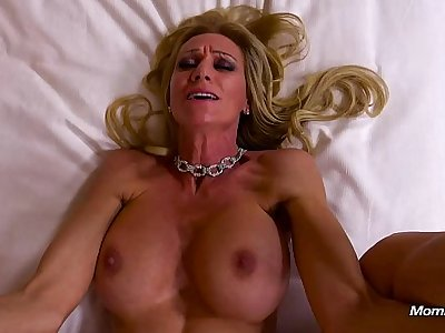 MILF Assfucked And Drinks A Glass Of Cum