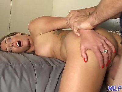 MILF Trip - Smoking hot blonde MILF gets slammed by fat cock - Part 2